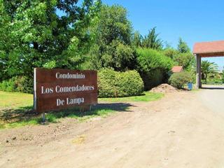 Parcela Con Casa Los Comendadores - Batuco .