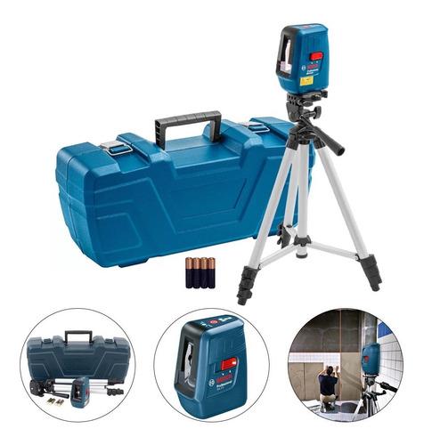 Imagem 1 de 6 de Nível Laser Nivelox Com Tripé E Maleta - Gll 3 X Bosch