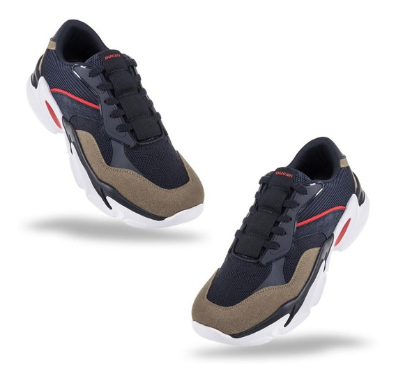 Tenis Casuales Hombre Chunky Ducati 825w Id-823348 F9