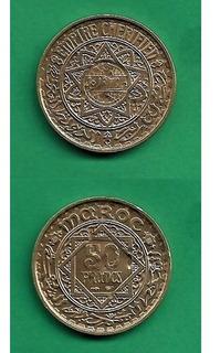 Grr-moneda De Marruecos 50 Francs 1952
