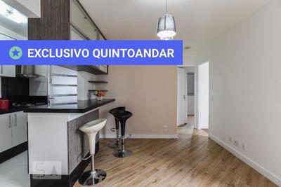 Apartamento No 5º Andar Mobiliado Com 2 Dormitórios E 1 Garagem - Id: 892930891 - 230891