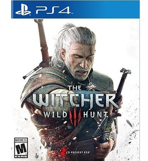 The Witcher 3: Wild Hunt Ps4 - Juego Fisico - Prophone