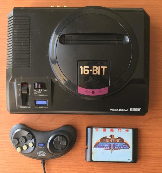 Mega Drive 1 Made In Taiwan - Modificado S-video / Av