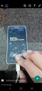 Galaxy Alpha 32gb, Problema De Liga Desliga.