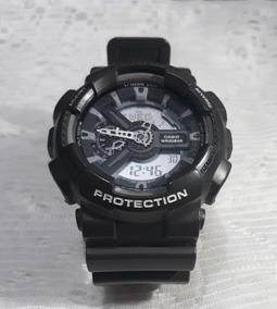 Relógio G-shock Ga-110c Cor Cinza