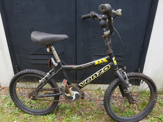 Bicicleta Niño Rodado 16 Venzo liquido