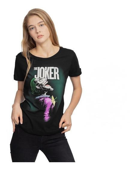 Playera Mujer The Joker Licencia Dc