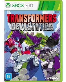 Transformers Devastation - Xbox 360 - Midia Física - Lacrado