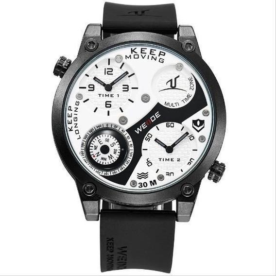 Relógio Masculino Weide Analógico Uv-1505 C/ Nf Frete Grat