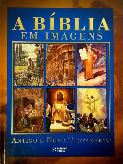 Livro - Bíblia Em Imagens - Antigo E Novo Testamento