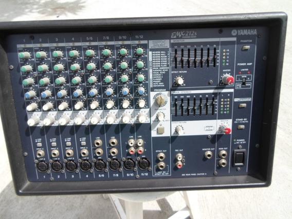 Mesa De Som Amplificada, Yamaha, Modelo: Emx212s (semi-nova)