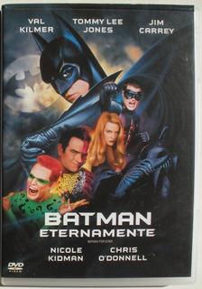Dvd - Batman Eternamente - Kilmer - Jim Carrey - Dual Layer