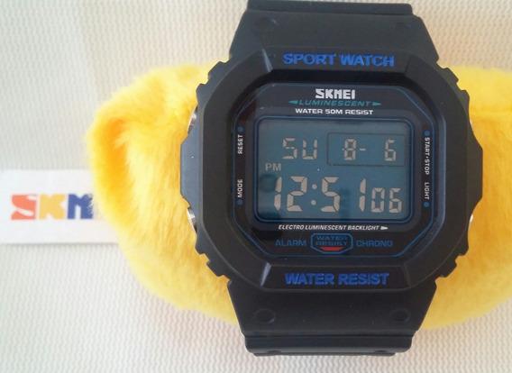 Relógio De Pulso Masculino Em Aço Inoxidável