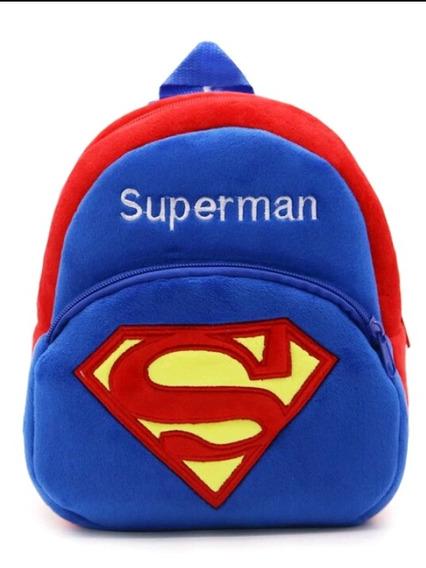 Mochila Infantil De Pelucia Personagem Supermem