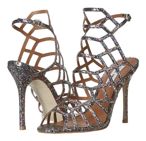 Zapatos Zapatillas Tacones Steve Madden Multiglitter