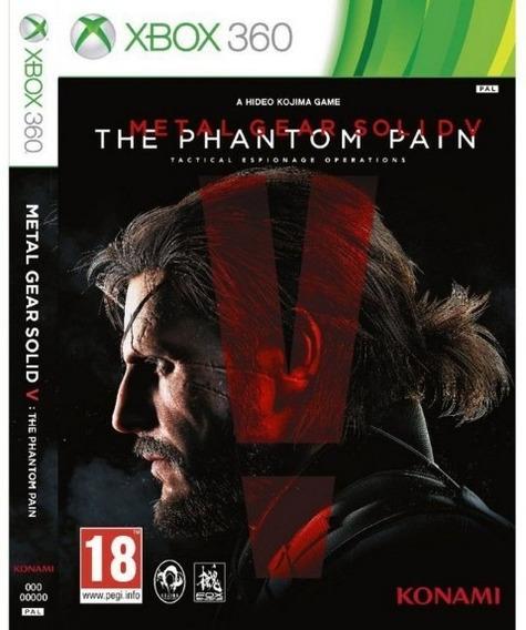 Metal Gear Solid V - Xbox 360 Mídia Digital