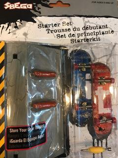 Sbego Skate 2 Patinetas P/ Dedos C/ Piezas Intercambiables