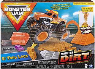 Nuevos Monster Jam 2019 - El Toro Loco - Monster Dirt Deluxe