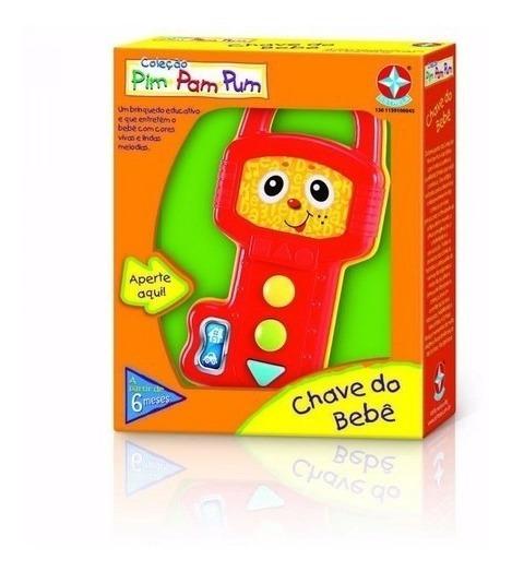 Brinquedo Musical Infantil Chave Do Bebê - Estrela