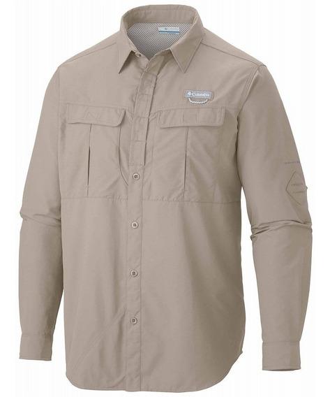 Camisa Columbia Hombre Cascades Explorer Long Sleeve Shirt