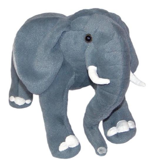 Elefante De Pelúcia Realístico - 55cm - Lindo!!!