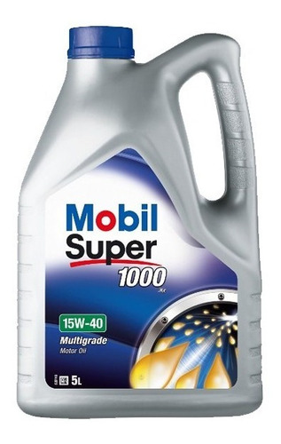 Aceite Mobil 1000 15w40 4l Motor Auto Zona Norte
