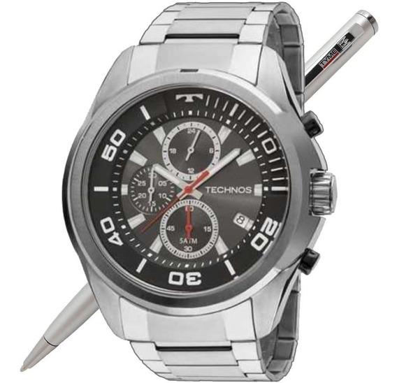 Relógio Technos Masculino Skymaster Js15en/1c - Nota Fiscal