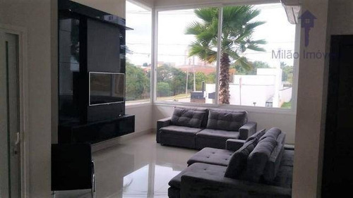 Casa Com 3 Dormitórios À Venda, 235 M² Por R$ 1.500.000 - Giverny - Bairro Da Vossoroca - Sorocaba/sp - Ca0504