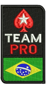 Patch Bordado Dv010 Pokerstars Pro Team Br Poker Online Tag