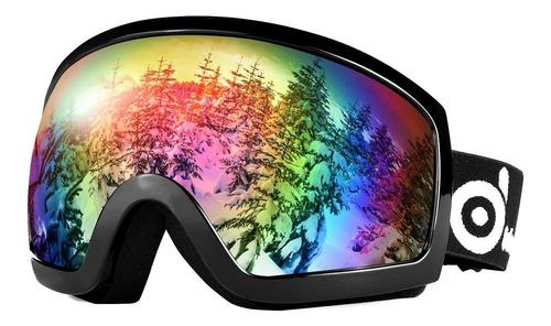 Imagen 1 de 8 de Odoland Gafas De Esquí De Nieve S2 Doble Lente Antivaho R