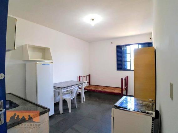 Kitnet Com 1 Dormitório Para Alugar, 19 M² Por R$ 670,00/mês - Cidade Universitária - Campinas/sp - Kn0804