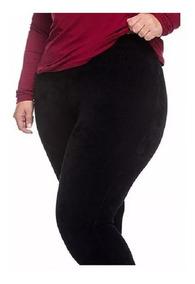Combo 3 Calças Legging Plus Size Grossa Roupas Femininas