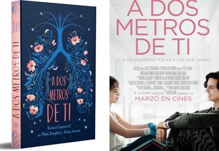 Regalo + Libro A Dos Metros De Ti Rachael Lippincott