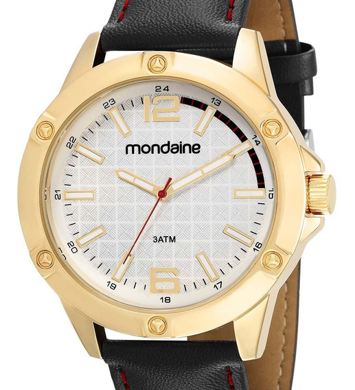 Relógio Mondaine Masculino 83396gpmvdh1 Dourado + Nfe
