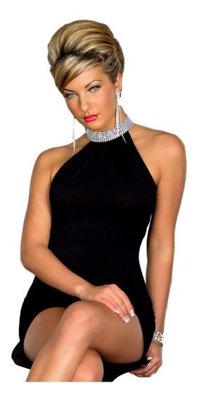 Vestido Corto Sensual Elegante De Fiesta Noche Coctel 80