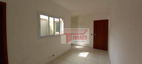 Cobertura Com 2 Dormitórios À Venda, 38 M² Por R$ 220.000,00 - Vila Linda - Santo André/sp - Co0726