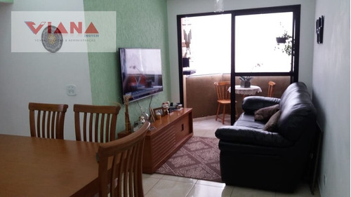 Imagem 1 de 13 de Apartamento Em Jardim Olavo Bilac  -  São Bernardo Do Campo - 11155