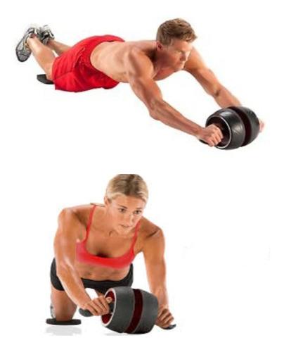 Imagen 1 de 5 de Rueda Abdominal Rueda Pro Ejercicio Abdominal Fitness !!