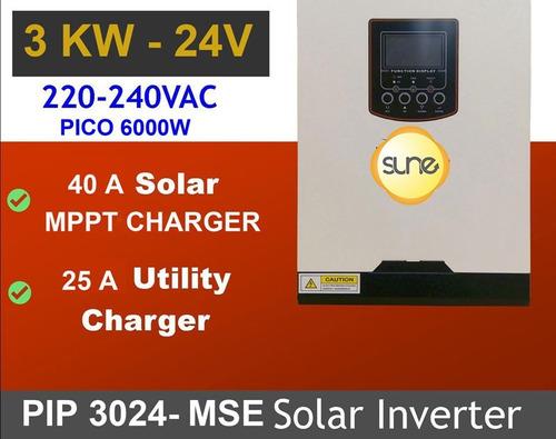 Energía Solar Inversor 3000w