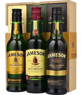 Whisky Jameson Trilogy Gift Pack 3 X200ml Envio Gratis Caba