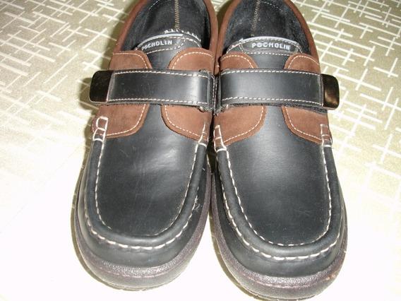 Zapatos Pocholin 100%cuero Talla 37