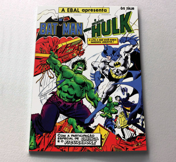 Hulk Vs Batman Ebal - Formato Americano