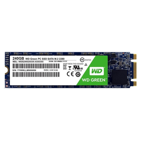 Disco Solido Ssd Wd 240gb Green M.2 Western Digital M2