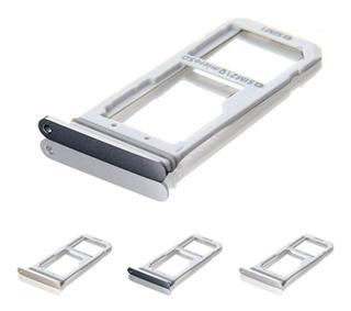 Bandeja Samsung S7 / S7 Edge Porta Sim Dual Single G930 G935