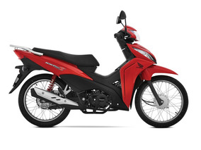 Honda Wave110 Rojo 2018 0km Wave 110 Avant Motos