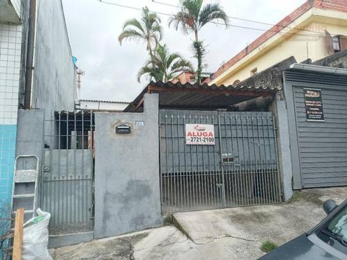 Casa Com 1 Dormitório Para Alugar, 70 M² Por R$ 1.200/mês - Jardim Catarina - São Paulo/sp - Ca0985