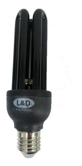 Lâmpada Compacta Fluorescente Luz Negra Neon 26w 127v L&d