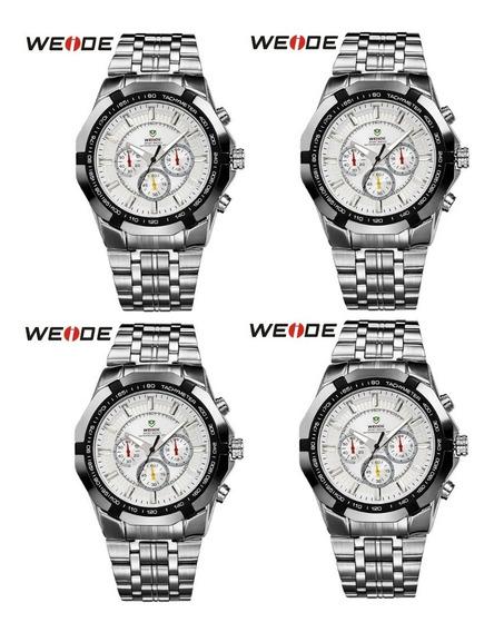 Relógio De Pulso Weide Wh-1010 Caixa Com 4 Un. Para Revenda