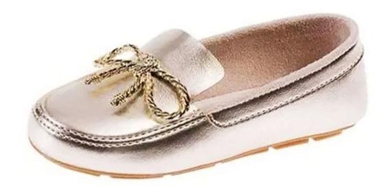Sapato Pimpolho Mocassim Infantil Laço 008424