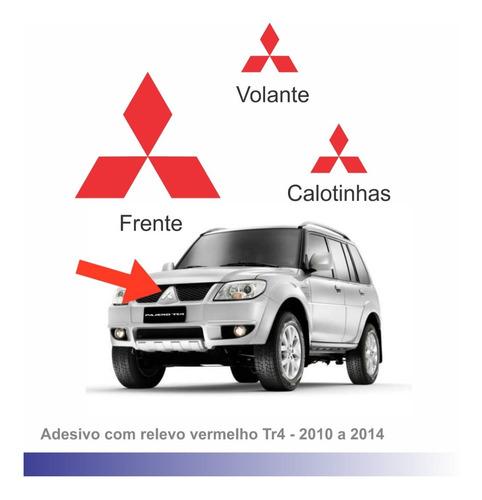 Tr4 10 A14 Adesivos Vermelhos Dianteiro E Volante Rodas